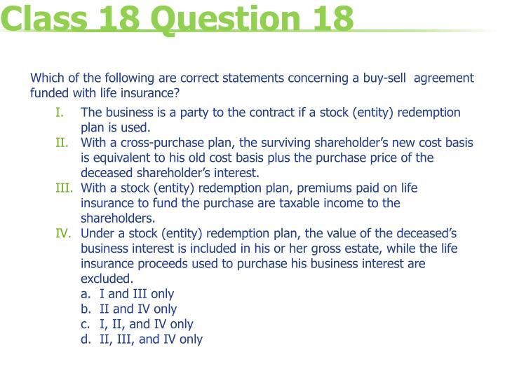 Class 18 Question 18