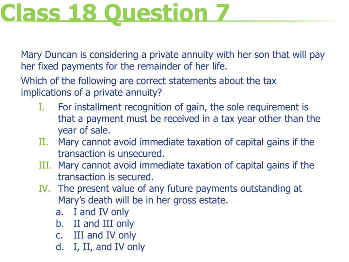 Class 18 Question 7