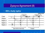 zyzzyva agreement ii