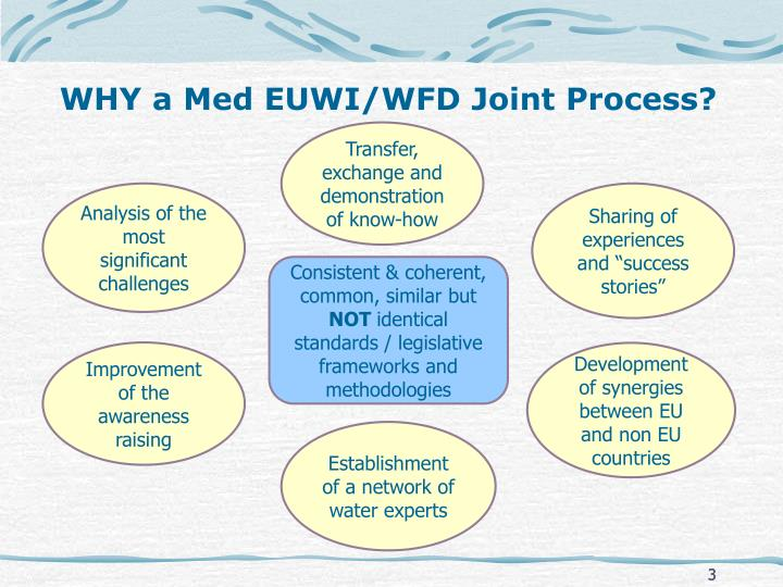 Why a med euwi wfd joint process