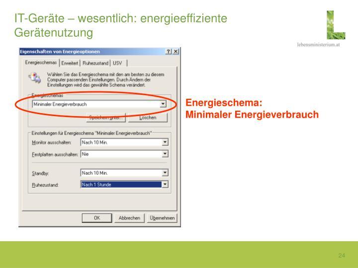 IT-Geräte – wesentlich: energieeffiziente Gerätenutzung