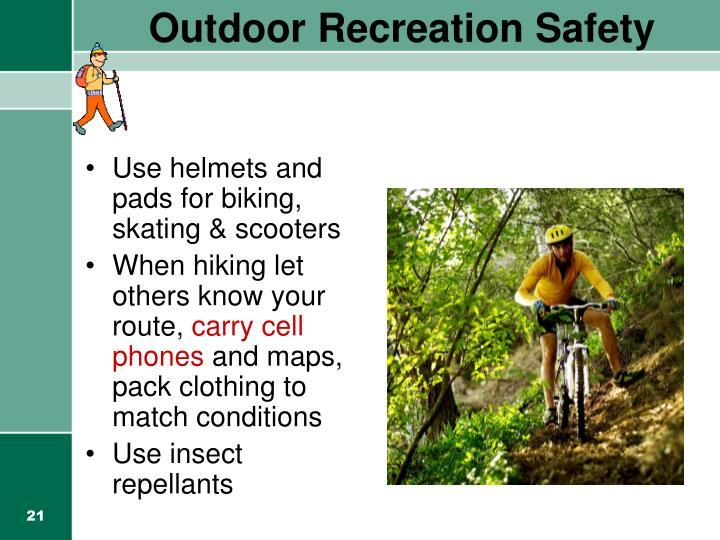 Outdoor Recreation Safety