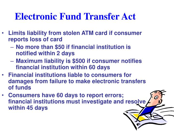Electronic Fund Transfer Act