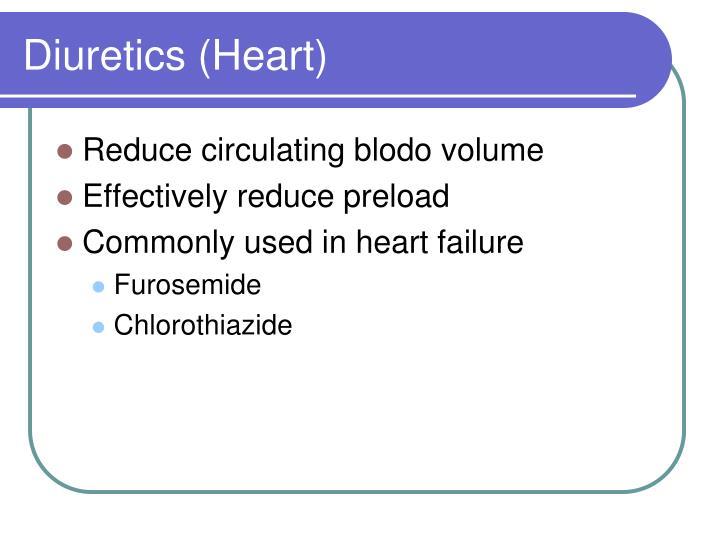 Diuretics (Heart)