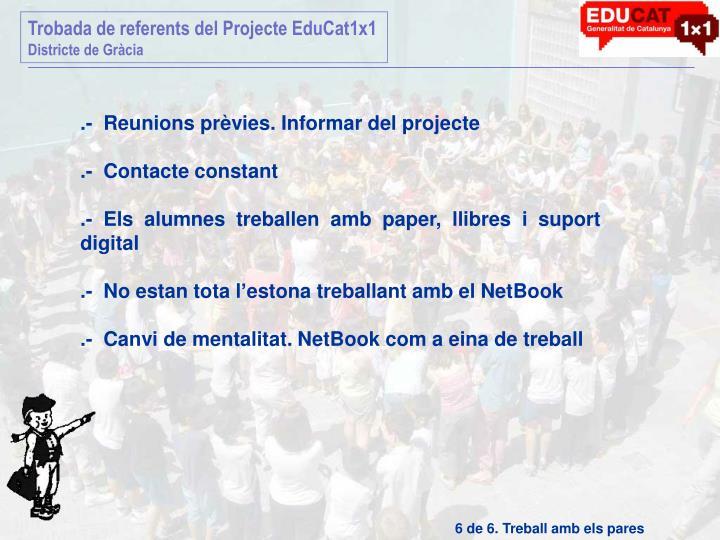 Trobada de referents del Projecte EduCat1x1