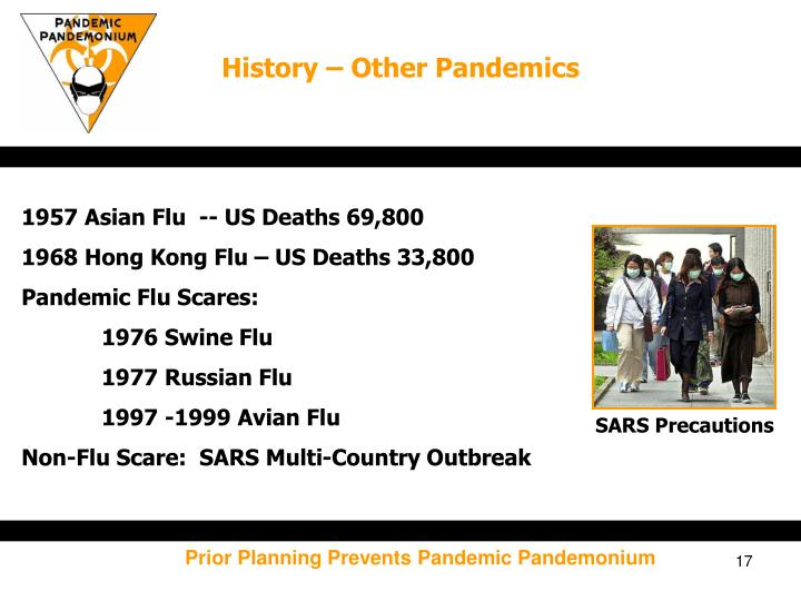 History – Other Pandemics
