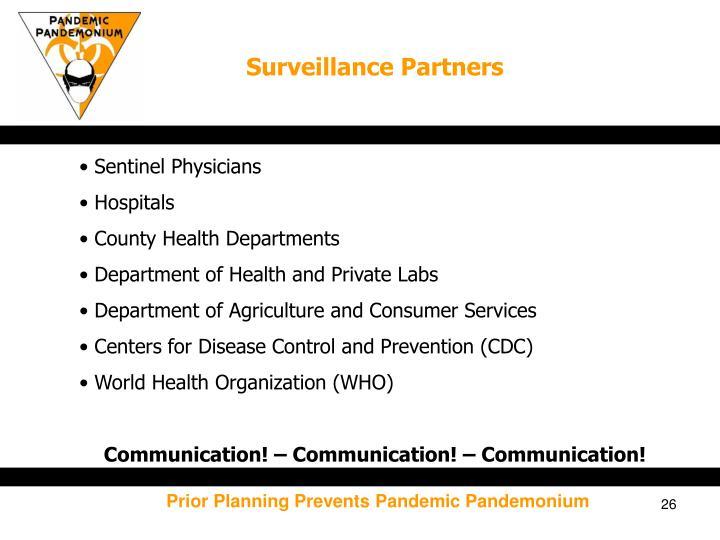 Surveillance Partners