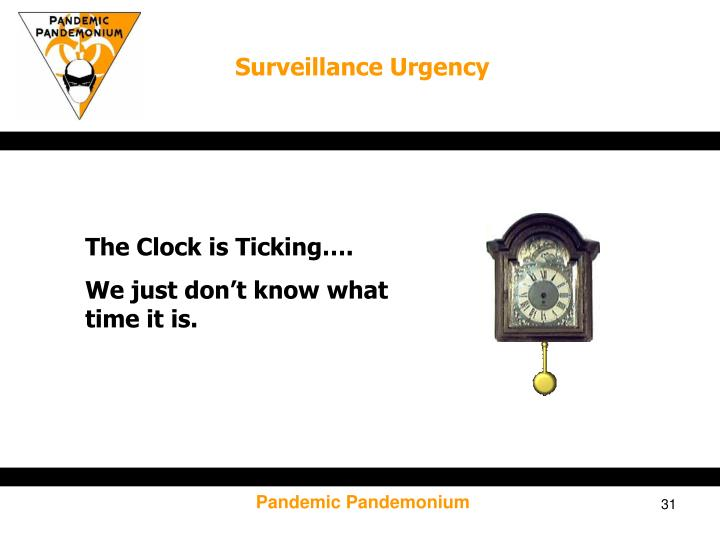 Surveillance Urgency