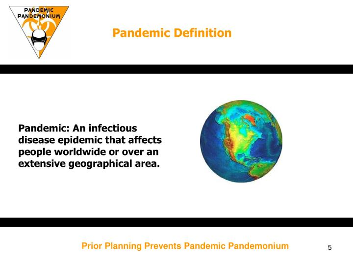 Pandemic Definition