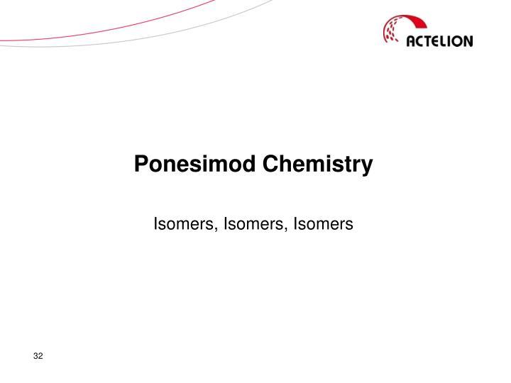 Ponesimod Chemistry