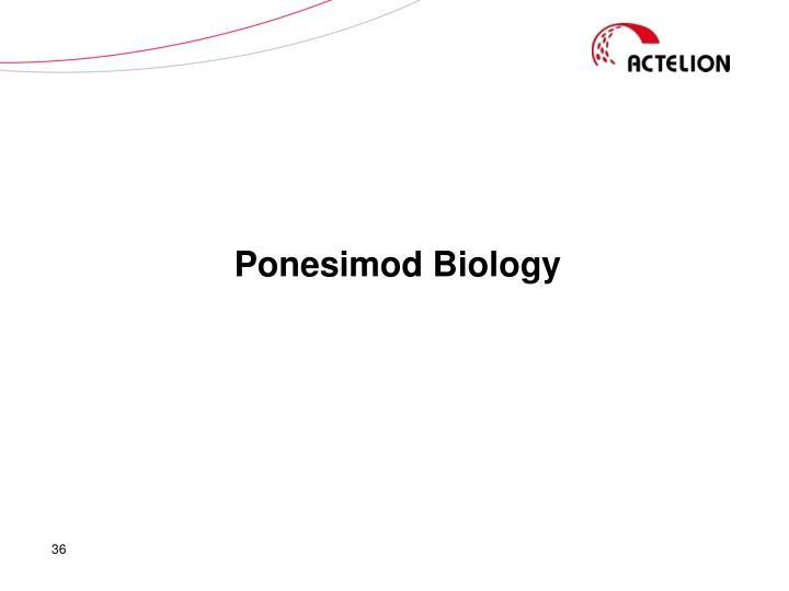 Ponesimod Biology