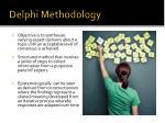 delphi methodology