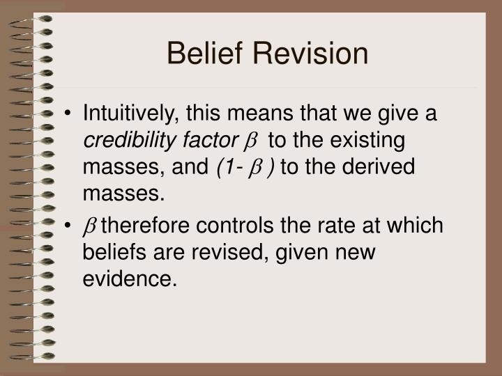 Belief Revision