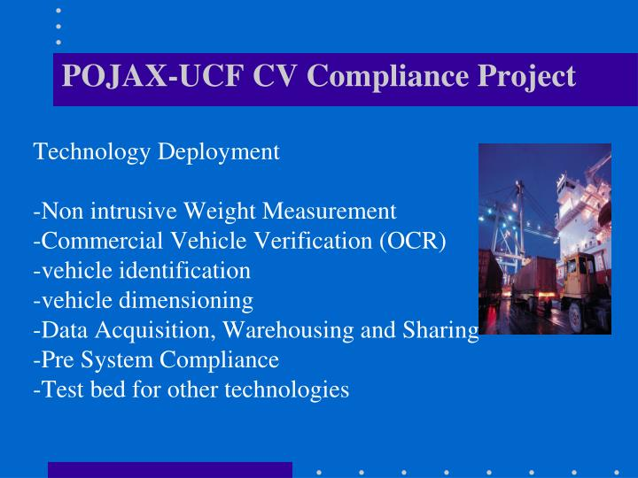 POJAX-UCF CV Compliance Project