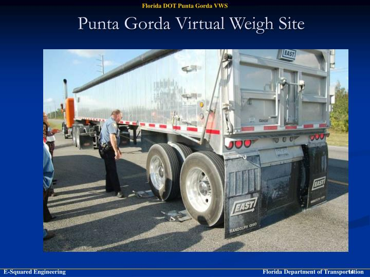 Punta Gorda Virtual Weigh Site
