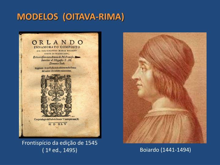 MODELOS  (OITAVA-RIMA)