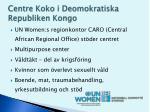 centre koko i deomokratiska republiken kongo