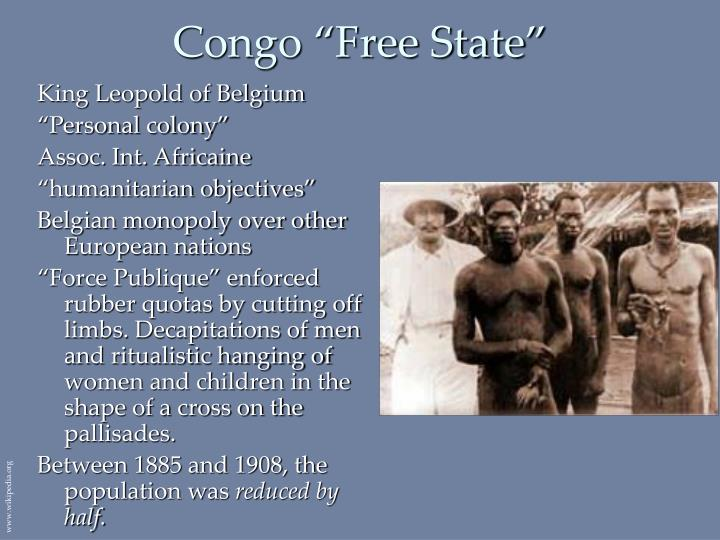"Congo ""Free State"""