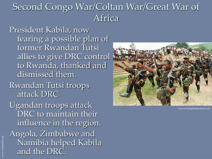 Second Congo War/Coltan War/Great War of Africa