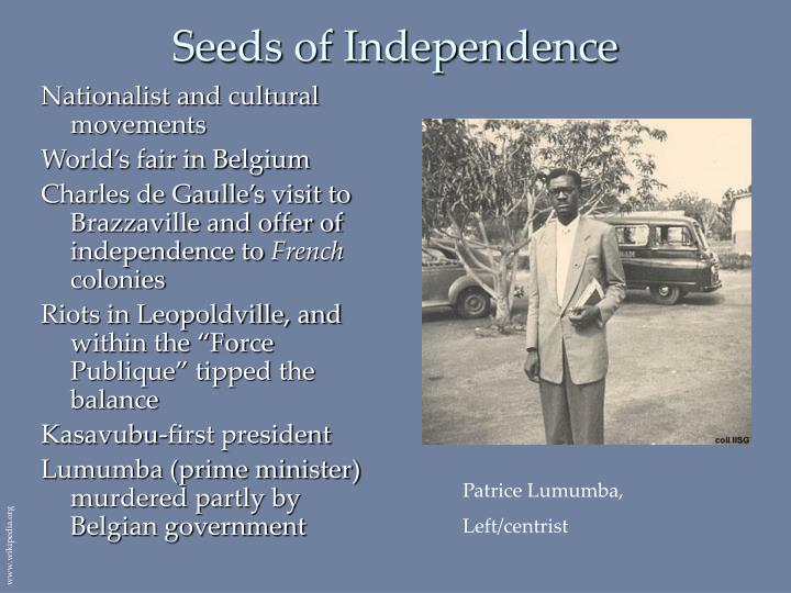 Seeds of Independence