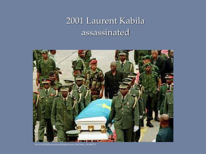 2001 Laurent Kabila