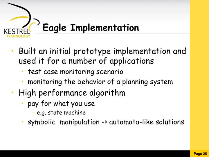 Eagle Implementation