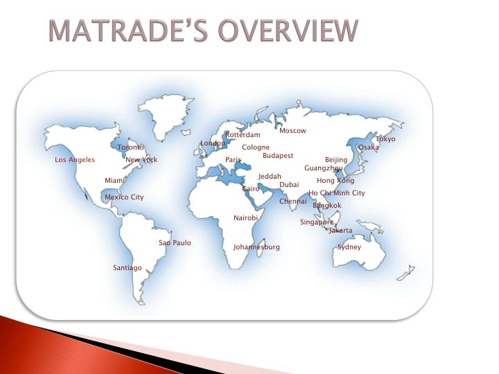MATRADE'S OVERVIEW