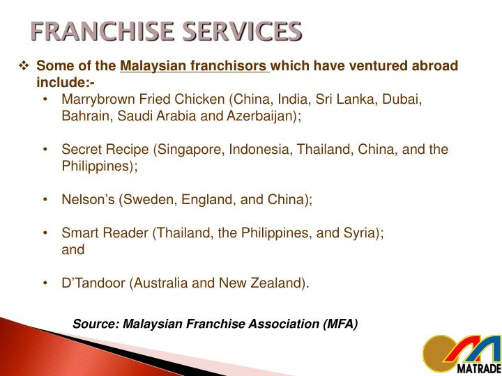 FRANCHISE SERVICES