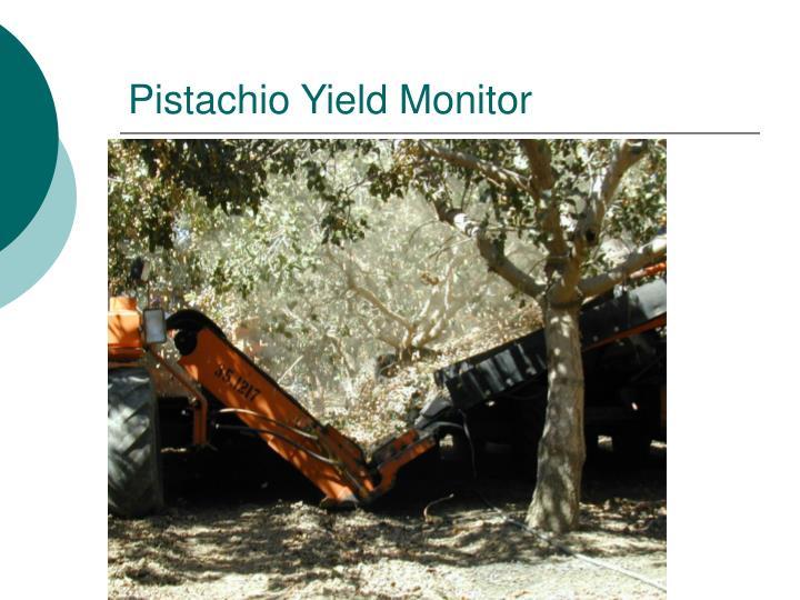 Pistachio Yield Monitor