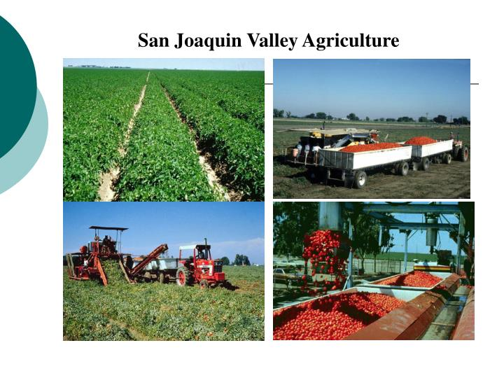 San Joaquin Valley Agriculture