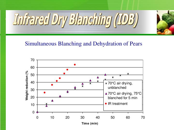 Infrared Dry Blanching (IDB)