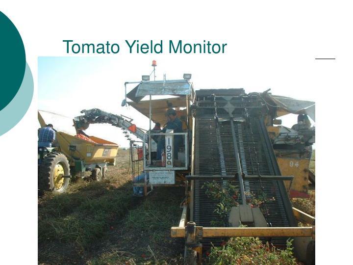 Tomato Yield Monitor