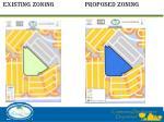 existing zoning proposed zoning