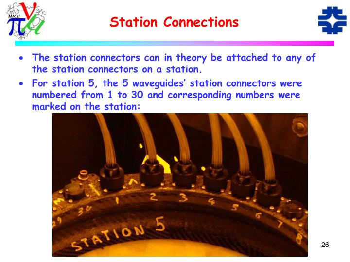 Station Connections