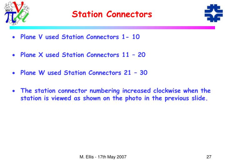 Station Connectors