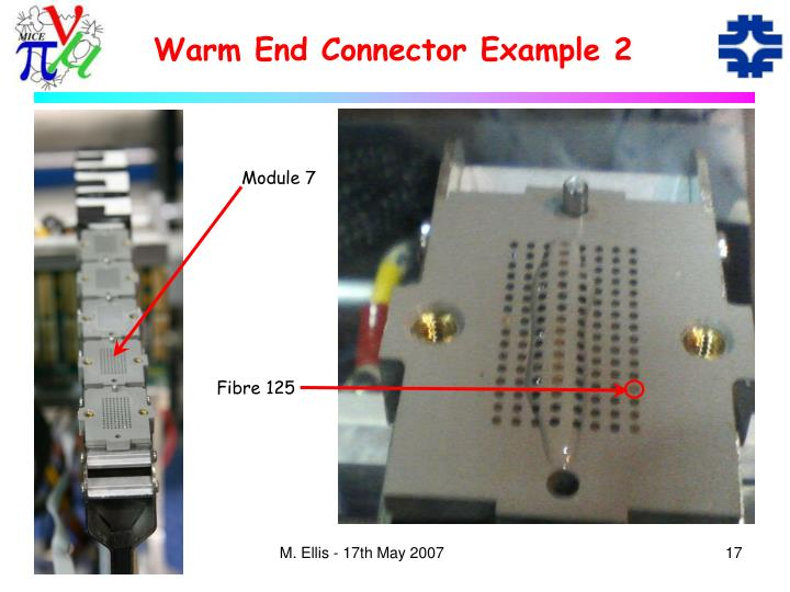 Warm End Connector Example 2