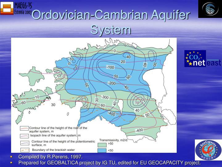 Ordovician-Cambrian Aquifer System