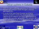 other options in estonia