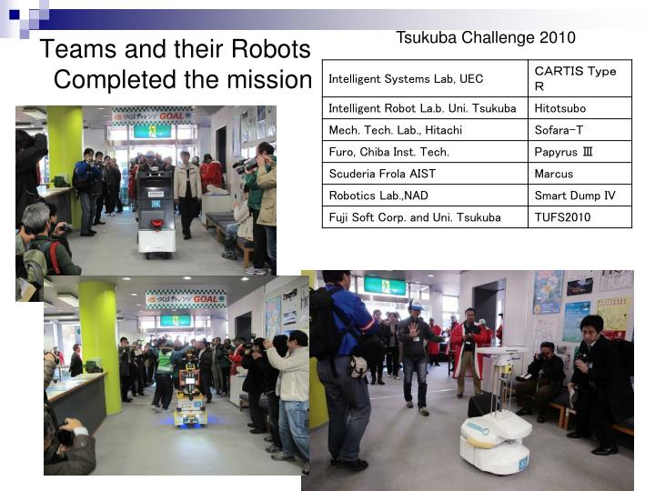Tsukuba Challenge 2010
