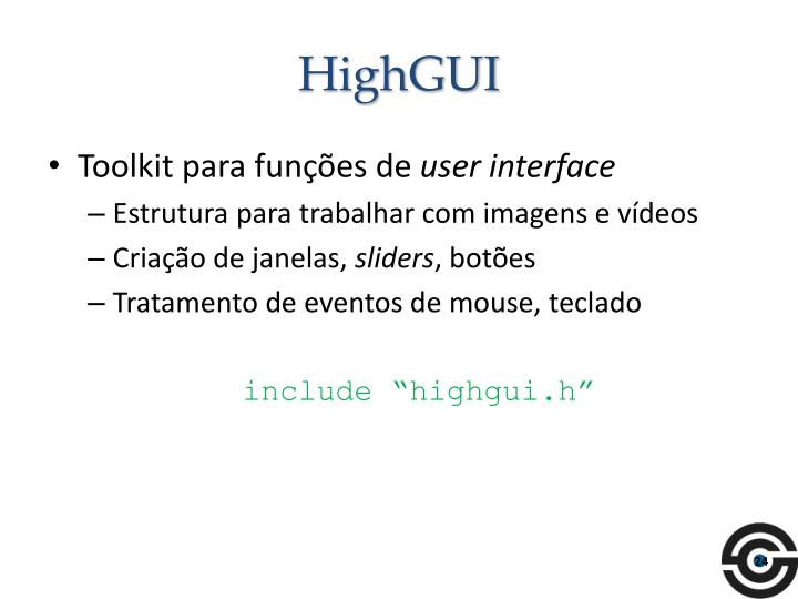 HighGUI
