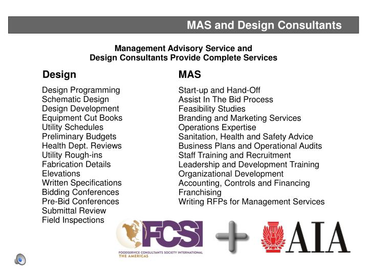 MAS and Design Consultants