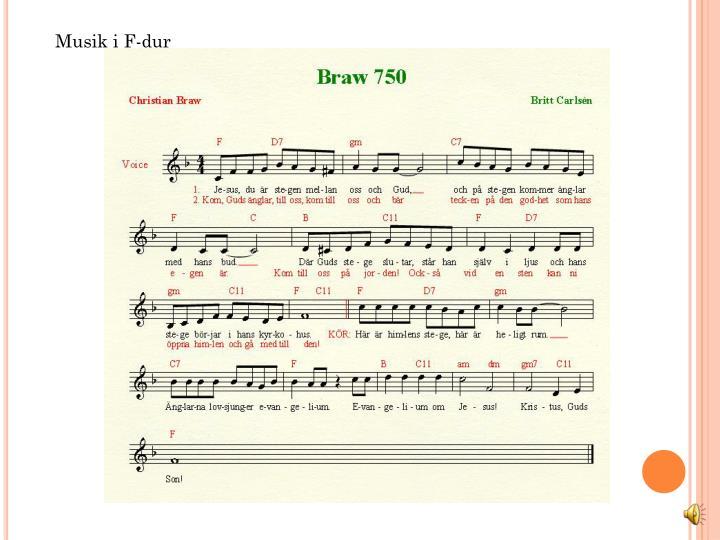 Musik i F-dur