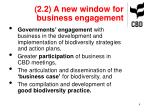 2 2 a new window for business engagement