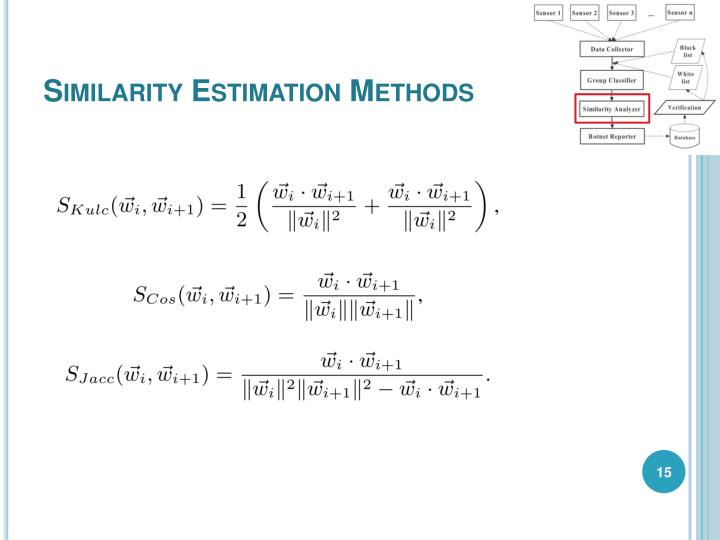 Similarity Estimation