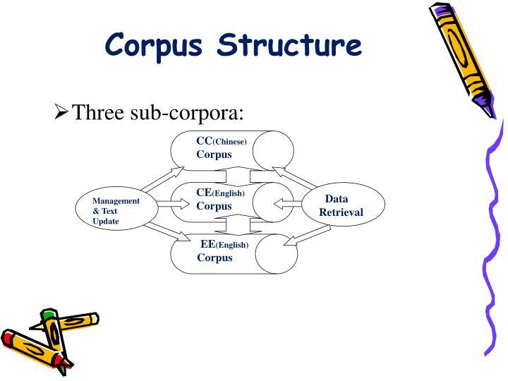 Corpus Structure