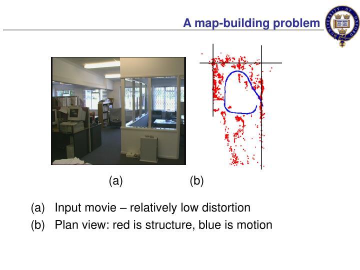 A map-building problem