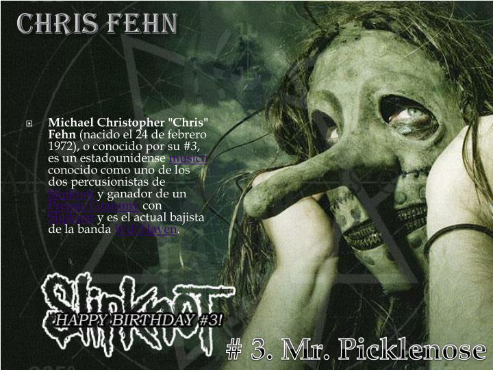 CHRIS FEHN