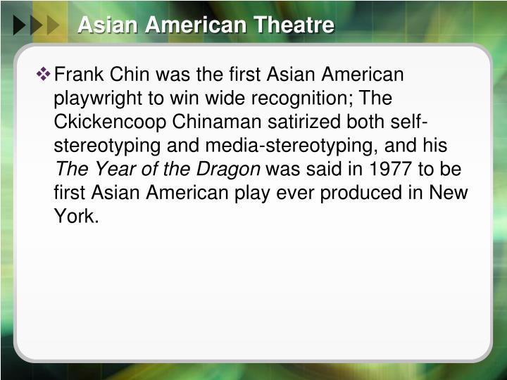 Asian American Theatre
