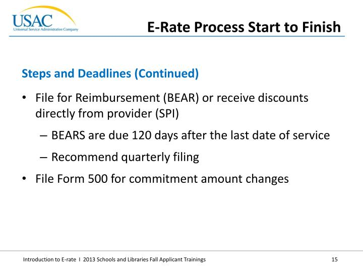 File for Reimbursement (BEAR) or receive discounts directly from provider (SPI)