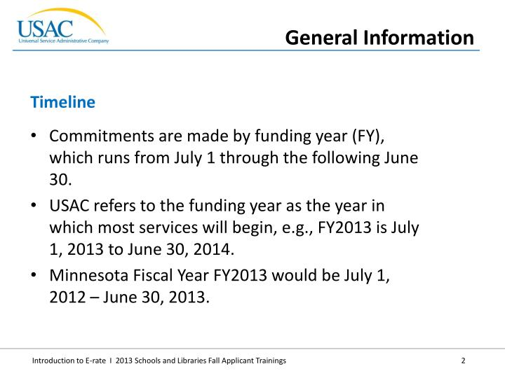 Commitments are made by funding year (FY), which runs from July 1 through the following June 30.